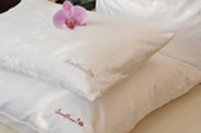 100% silk filled pillows
