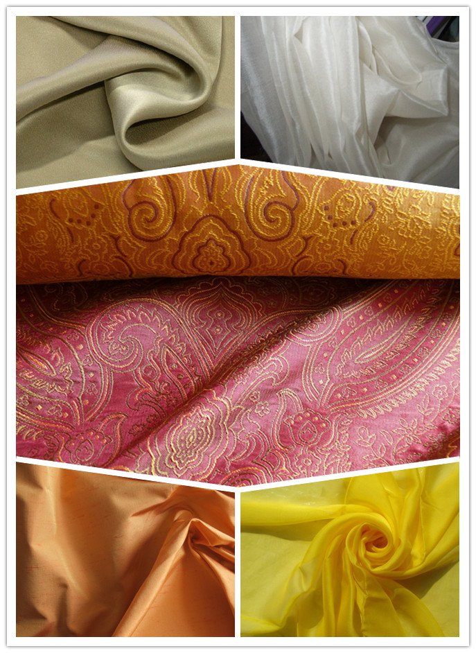 Silk Has Been Woven Into Different Fabrics