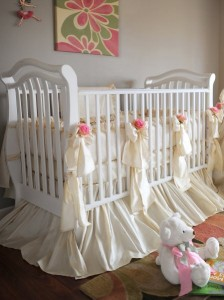 silk baby bedding