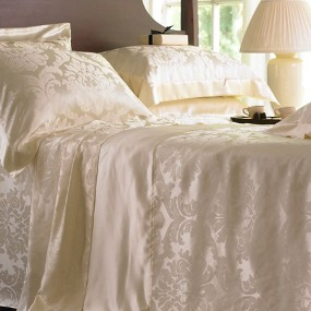 silk bed set