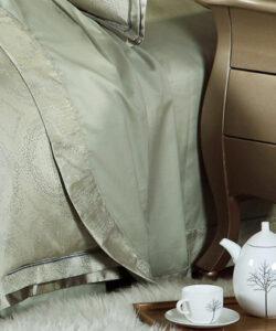 silk bed linens