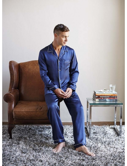Where to Buy Comfortable Men's Silk Pajamas