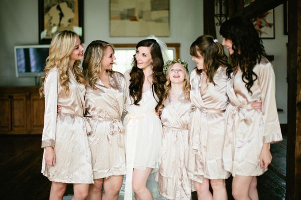 Silk Robes for Your Bridesmaids