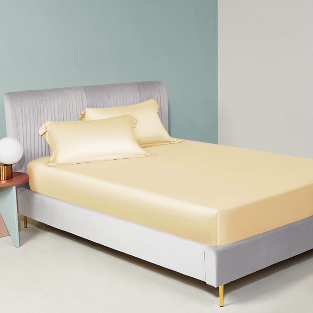 Silk Fitted Sheets Premium Quality Mulberry Silk Sheet