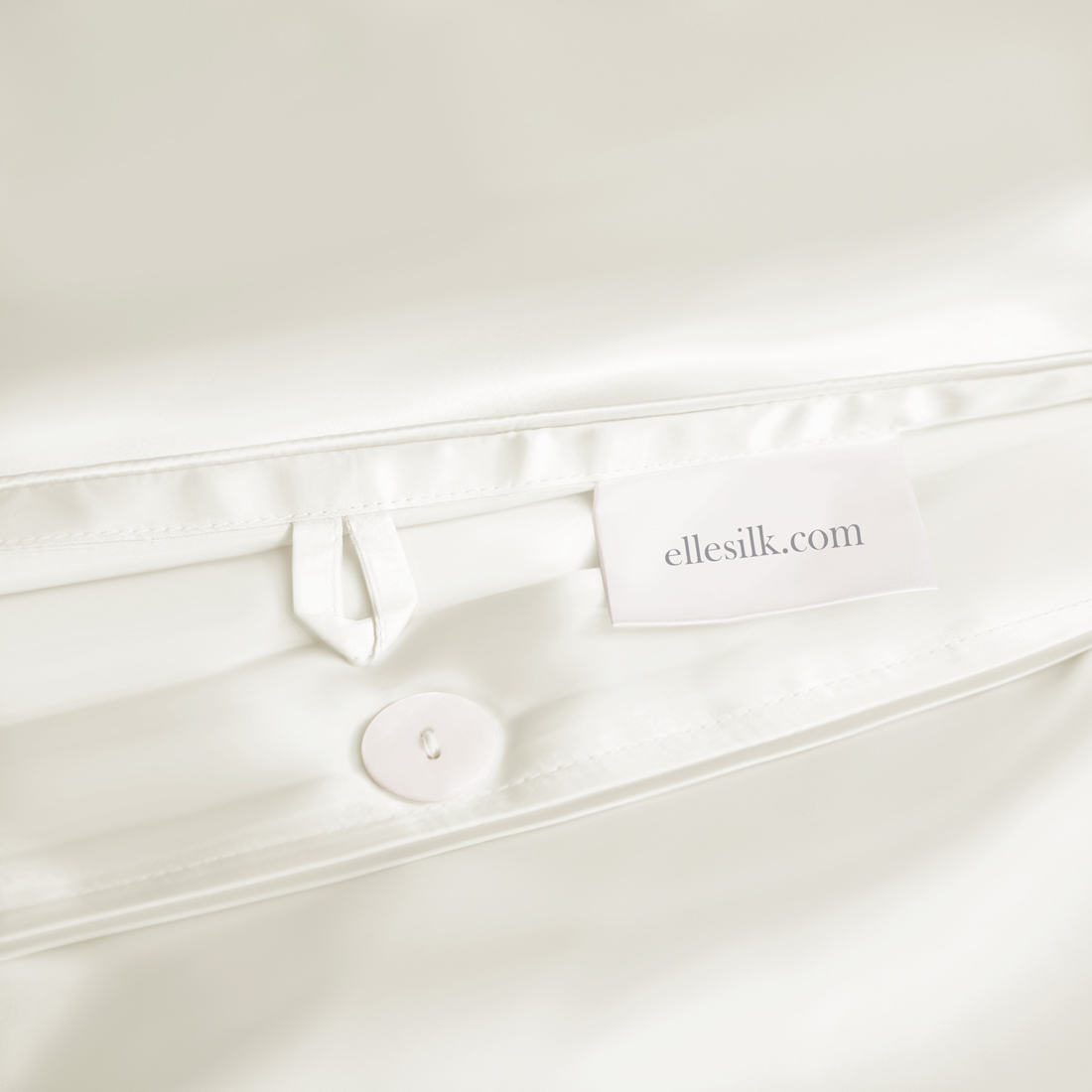 25 Momme Ivory Silk Bed Linen