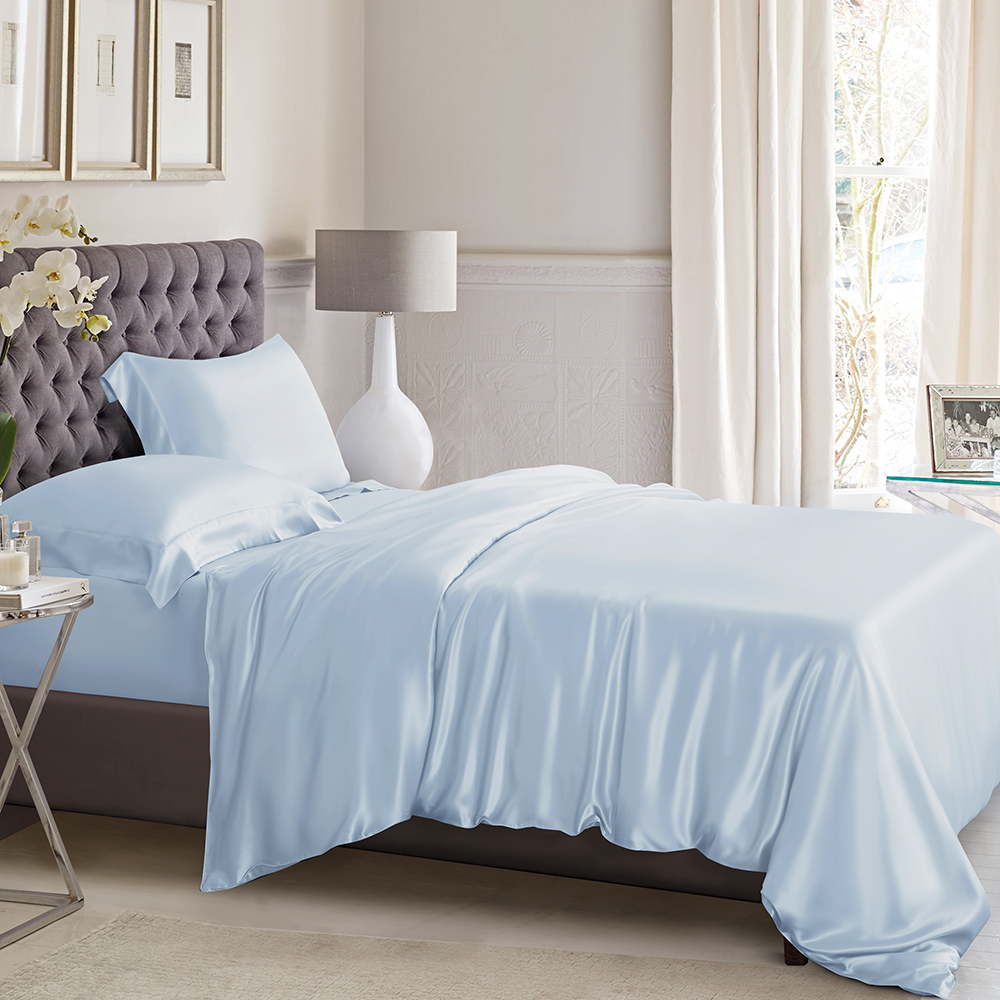 Pure Mulberry Silk Duvet Cover Pool