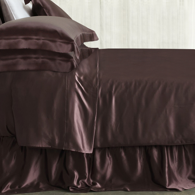 Silk Bed Skirts From The Finest Mulberry Silk