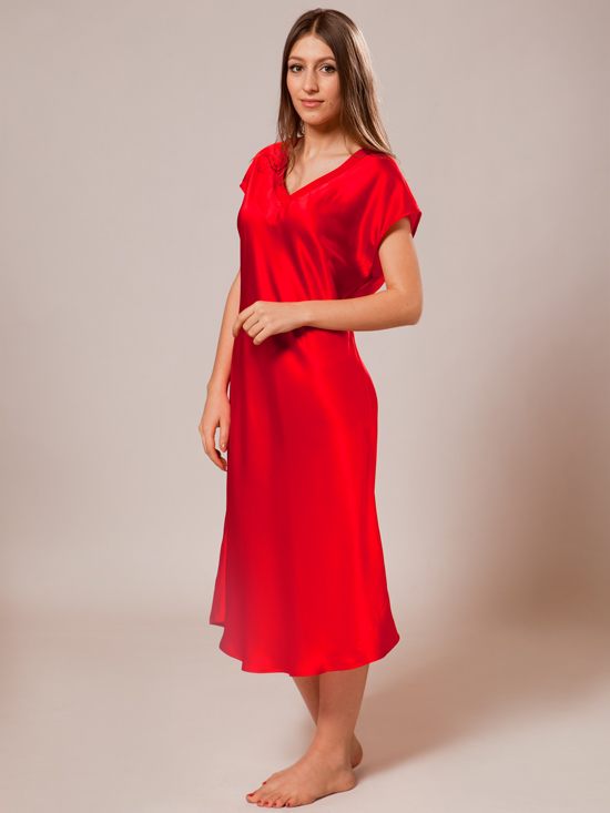 Mulberry Silk Nightgown For Women 111