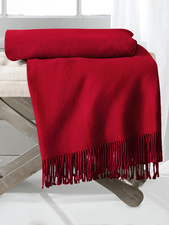 Red Silk Throw Blankets From The Finest Mulberry Silk