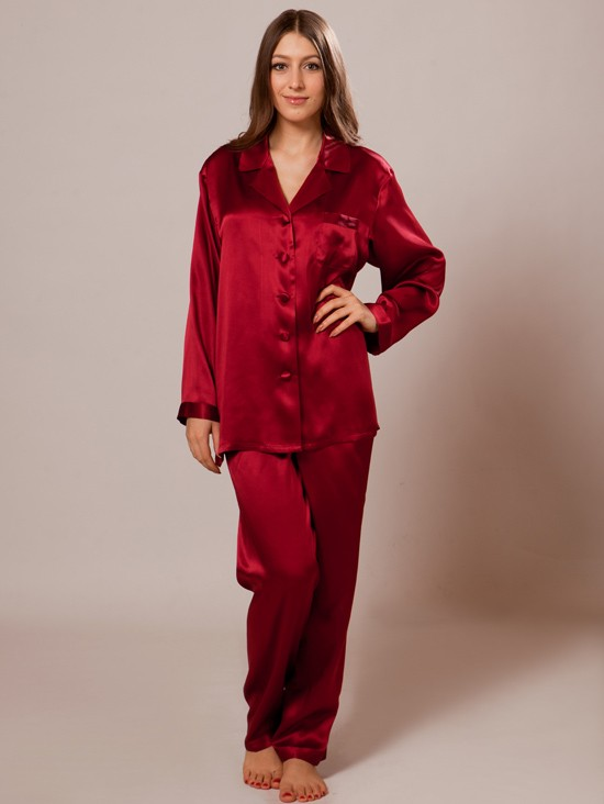 696aa3706027f1 Mulberry Silk Pajamas for Women $126